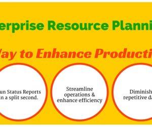 Enterprise Resource Planning ERP – A Way to Enhance Productivity.