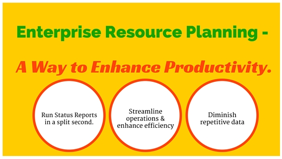 Enterprise Resource Planning ERP – A Way to Enhance Productivity ...